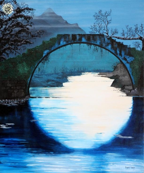 Click here to view Under the Moon by ROBERT CROOKER ART